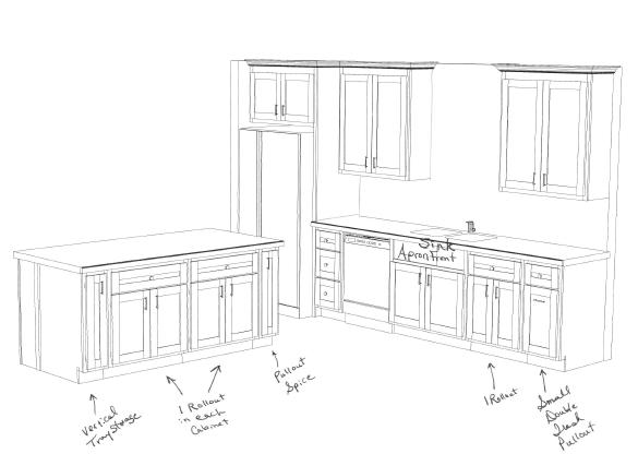 Keystone Kitchens design 1