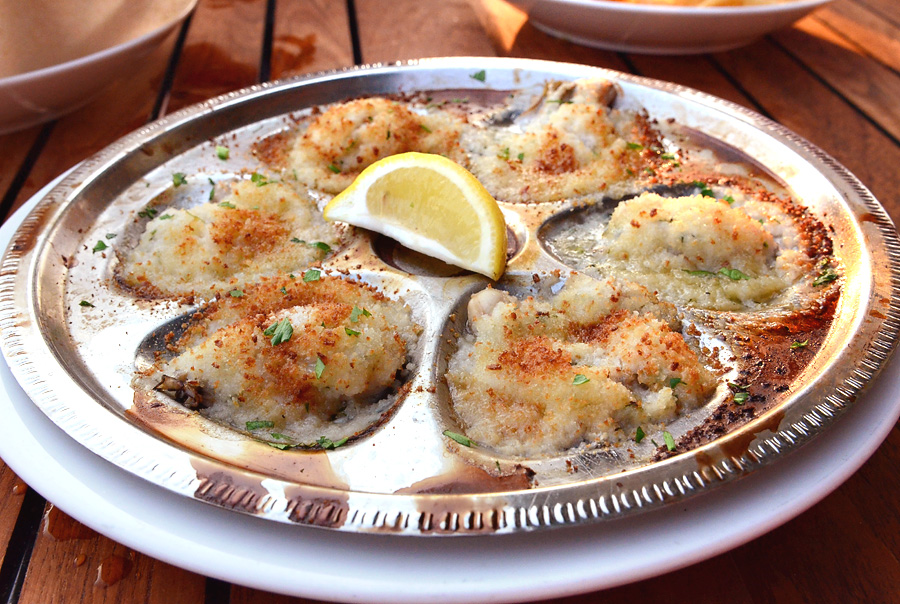 Bud & Alley's - Baked Oysters