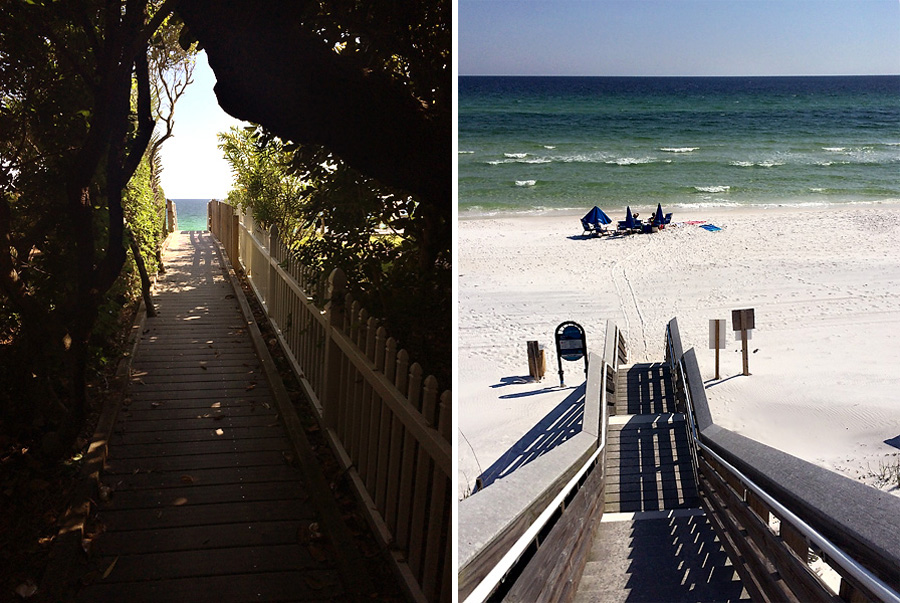 Seagrove Beach - Collage