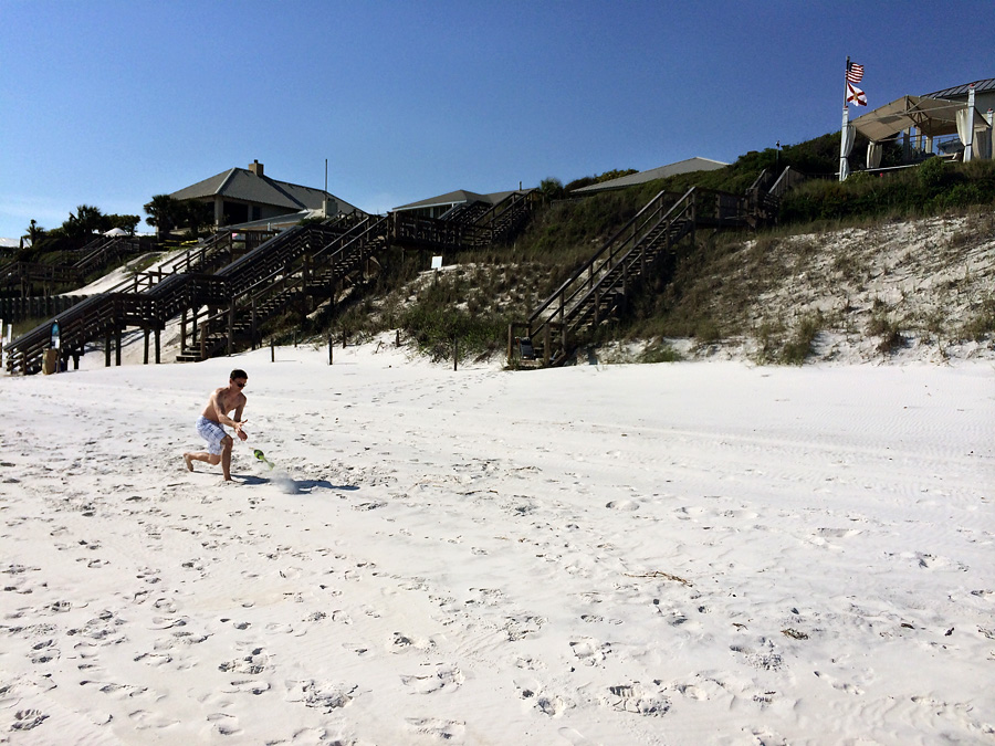 Seagrove Beach - Nerf Ball