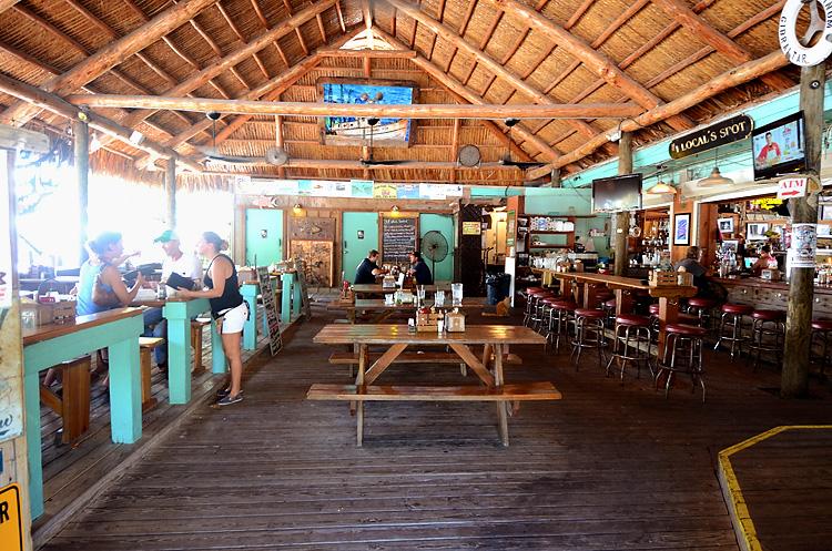 Hogfish Bar & Grill interior