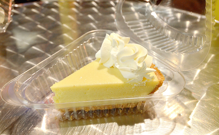 Key Lime Pie Factory - key lime pie slice