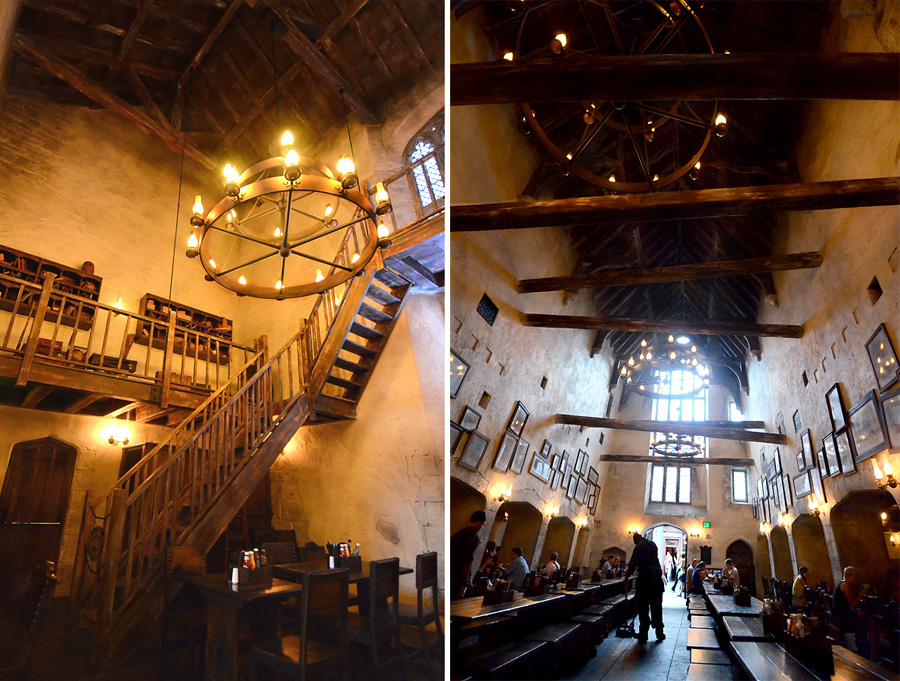 Leaky Cauldron Collage