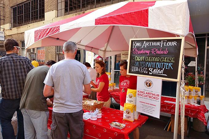 2015 Knoxville International Biscuit Fest King Arthur Flour