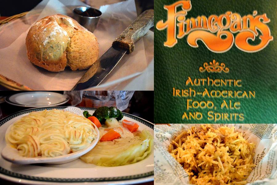 Universal Studios Finnegans Dinner