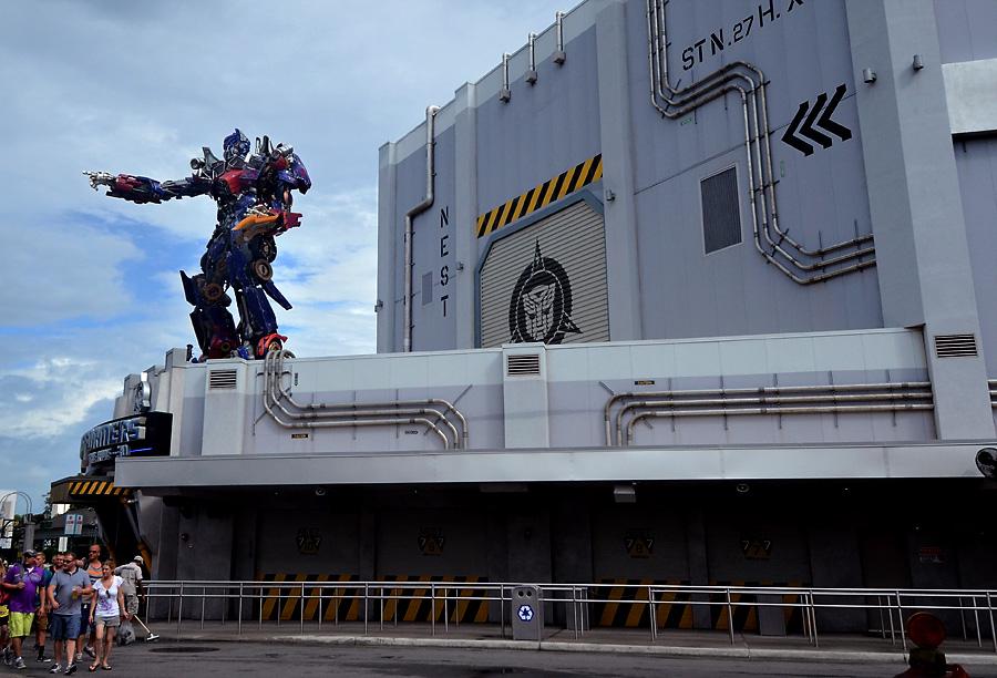 Universal Studios Transformers Ride