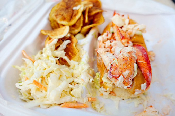 Hilton-Head-Island-Sea-Pines-Farmers-Market-Lobster-Roll