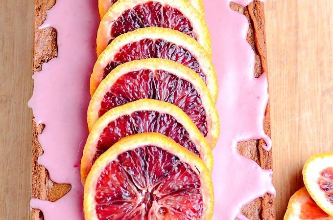 Blood Orange Chocolate Chip Banana Bread