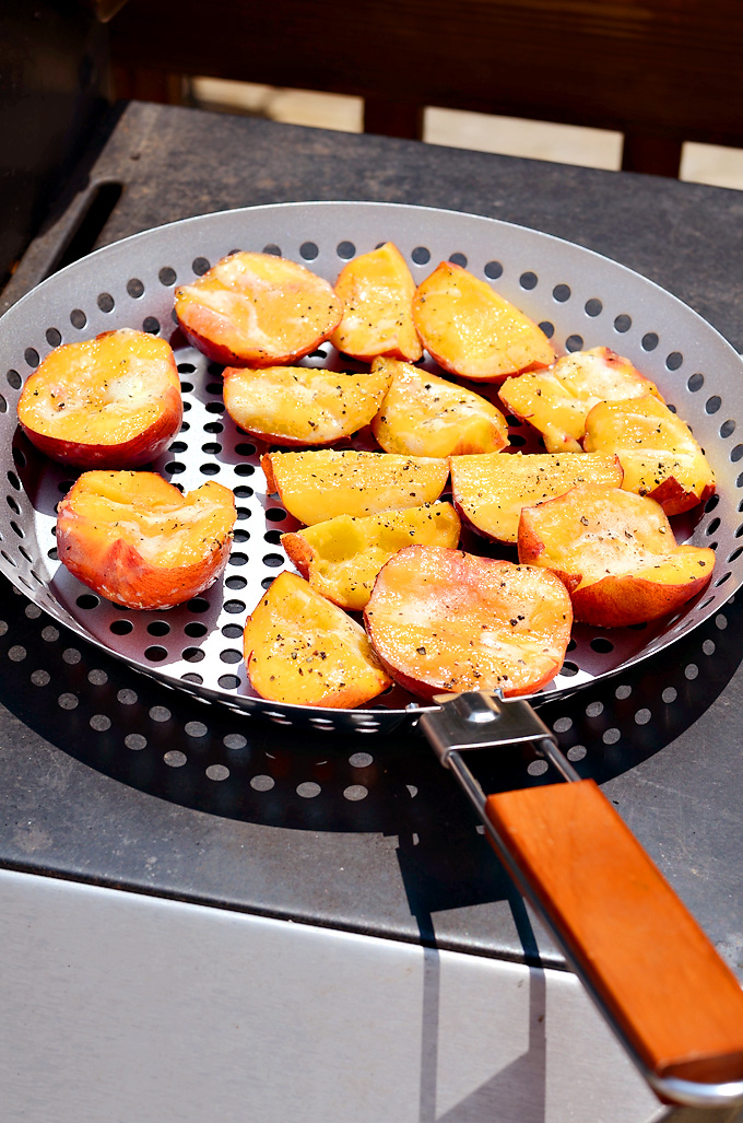 Beer-Glazed-Pork-chops-Fathers-Day-Grilling-Grilled-Peaches-World-Market