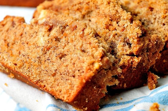 Coffee Cake Banana Bread