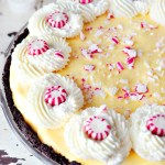 Peppermint Bavarian Cream Pie