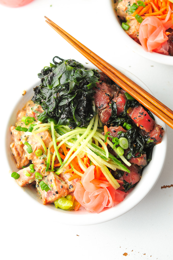 Tuna Poke Bowl: Two Ways