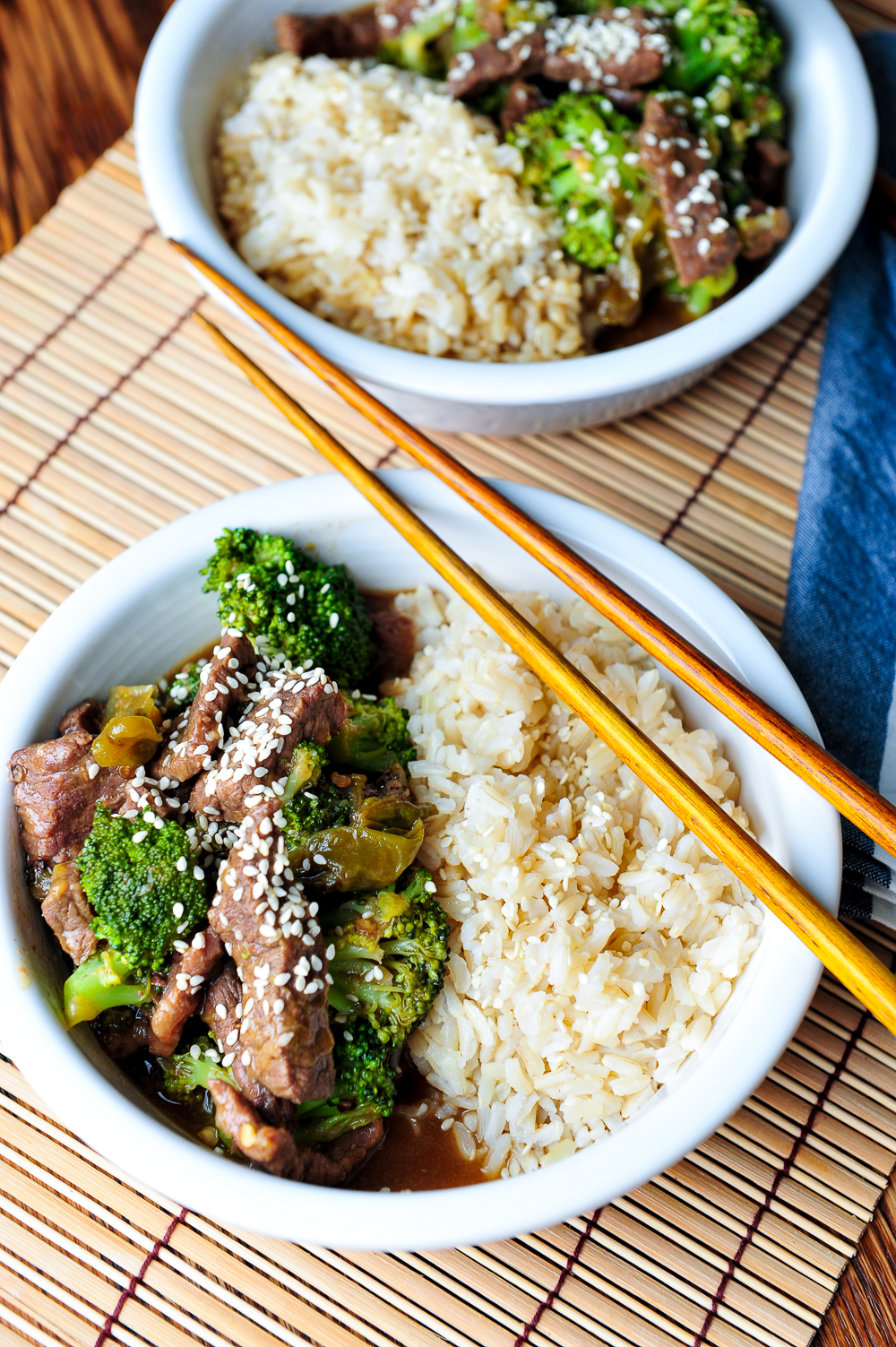 Instant pot beef broccoli simple asian dishes like chinese fried rice chicken stir fry and korean beef bowls are some of our favorites on regular rotation for dinner forumfinder Choice Image