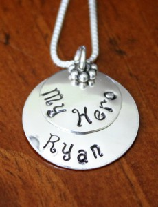 Military Name Necklace
