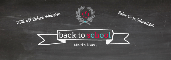 Back to school Banner- K & S Impressions