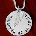 Memorial Necklace- Daughter of an angel