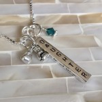 boxing glove cancer survivor fighter necklace