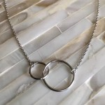 Eternity Circles Necklace- Love