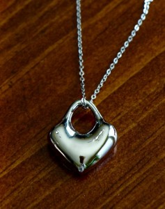 Heart Silver Necklace Couples Jewelry