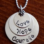 Survivor Necklace- Veteran Necklace- Infertility Necklace