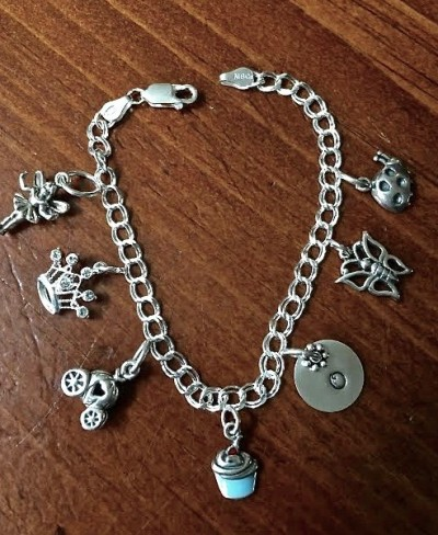 0cc15c6b6b301 Princess Charm Bracelet- Girls Jewelry | kandsimpressions