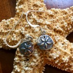 Sand Dollar Earrings beach jewelry