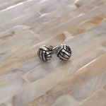 Volleyball Earrings- Stud Earrings- Sports Earrings
