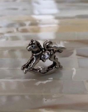 Rocking Horse Charm New Baby Jewelry Kandsimpressions