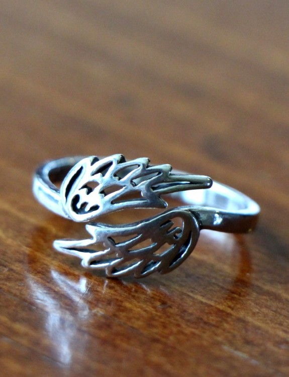 Angel Wing Ring Guardian Angel Wings Ring Kandsimpressions
