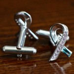 Breast Cancer Awareness Cuff Links