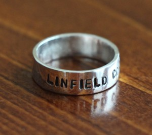 College Graduate Personalized Ring- Graduation Gift