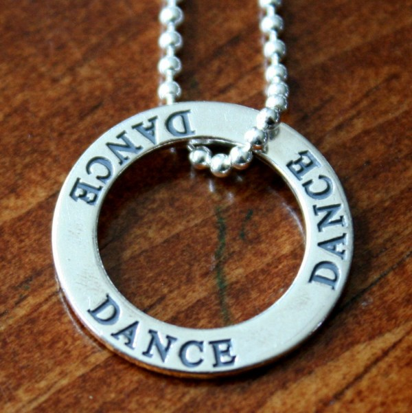 Dance Necklace- Dancer Gift
