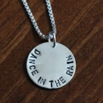 Dance in the rain necklace- letting it all go