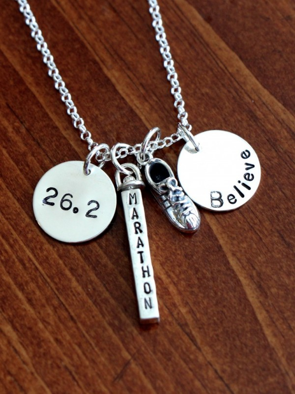 Runner Name Necklace