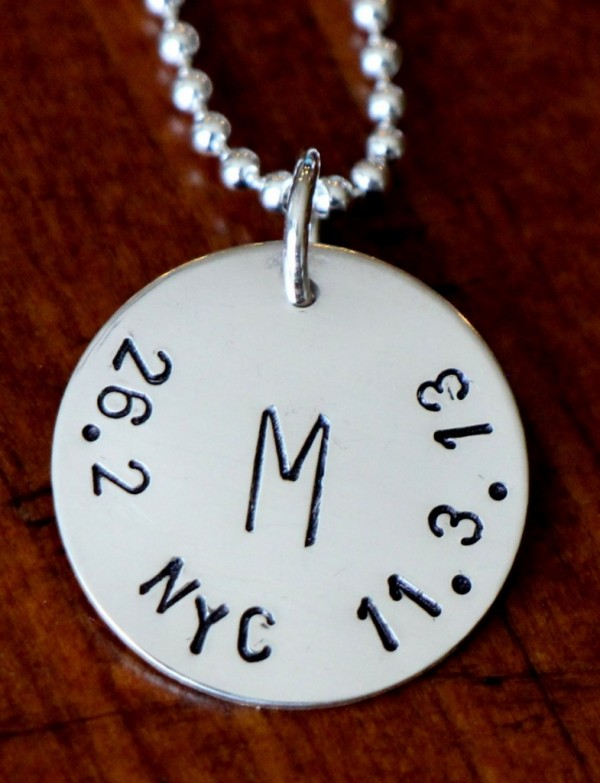 Runner Personalized Necklace