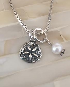 Sand Dollar Necklace- Bridal