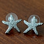Starfish Earrings- Beach wedding jewelry