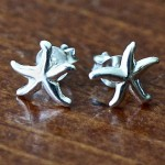 Starfish Earrings- Stud