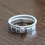 Survivor Personalized Birthstone Ring
