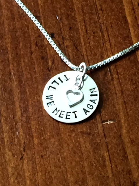 we part to meet again necklace length