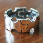 Autism Ring- Puzzle Piece Ring- Awareness Ring