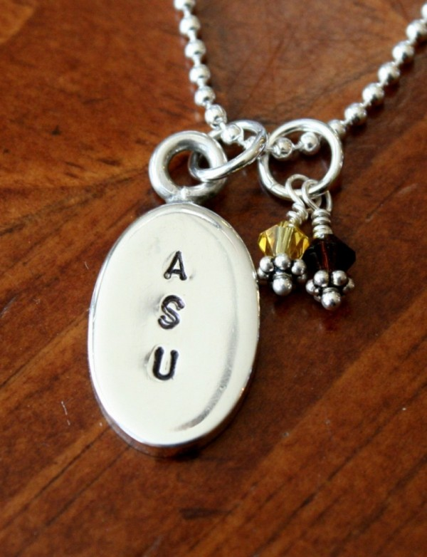 School Pride Necklace college necklace kandsimpressions