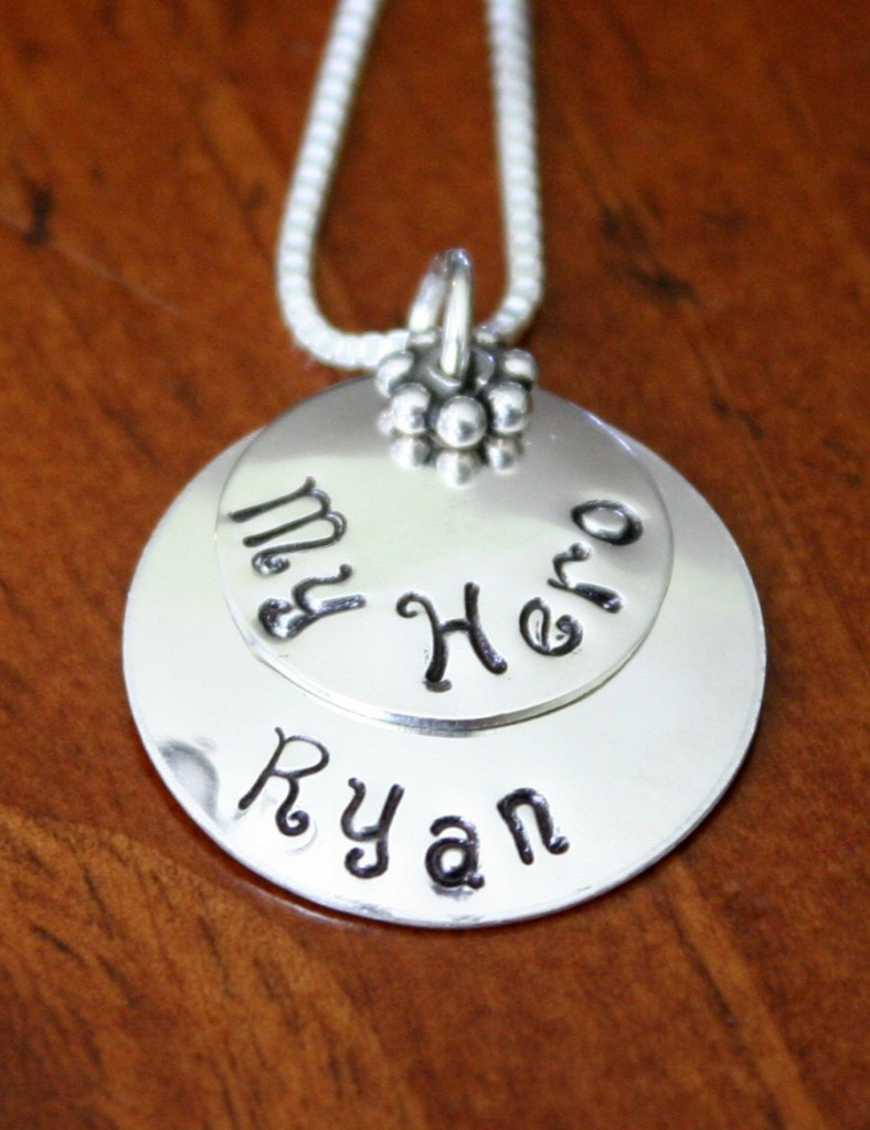 My Hero Personalized Military Necklace Kandsimpressions