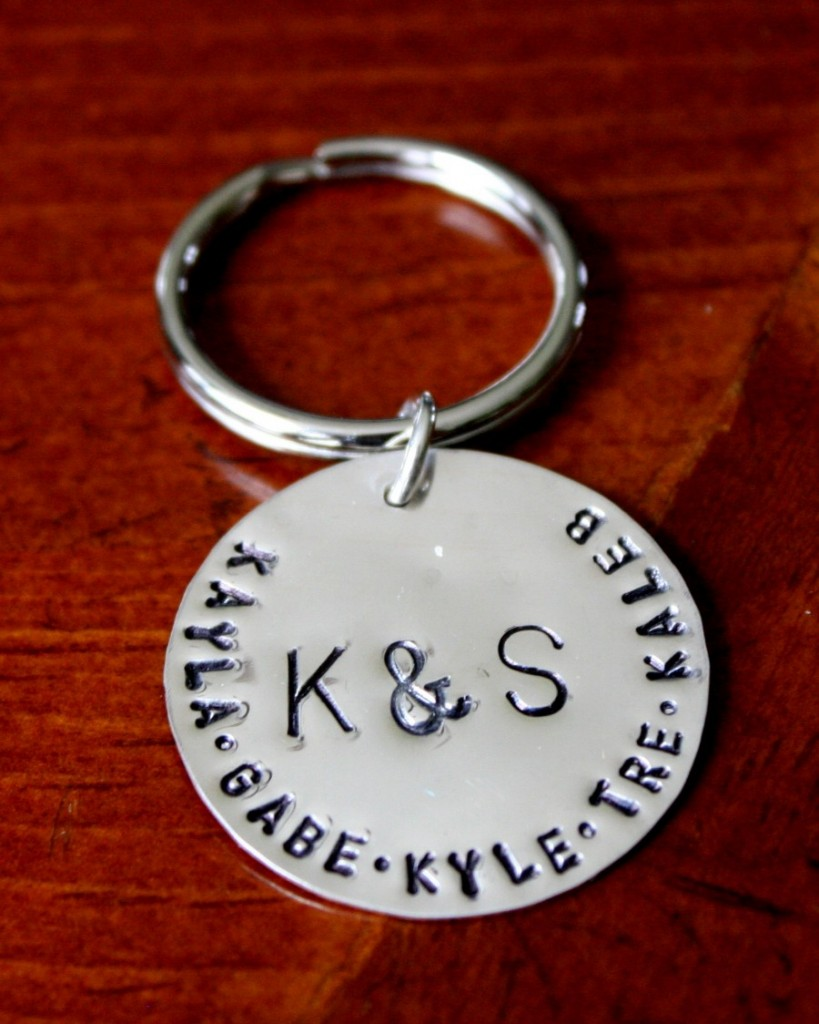 Personalized Childs Name Keychain Kandsimpressions