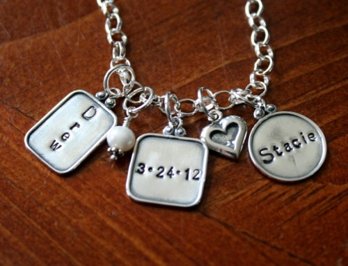 Anniversary Date couples Necklace