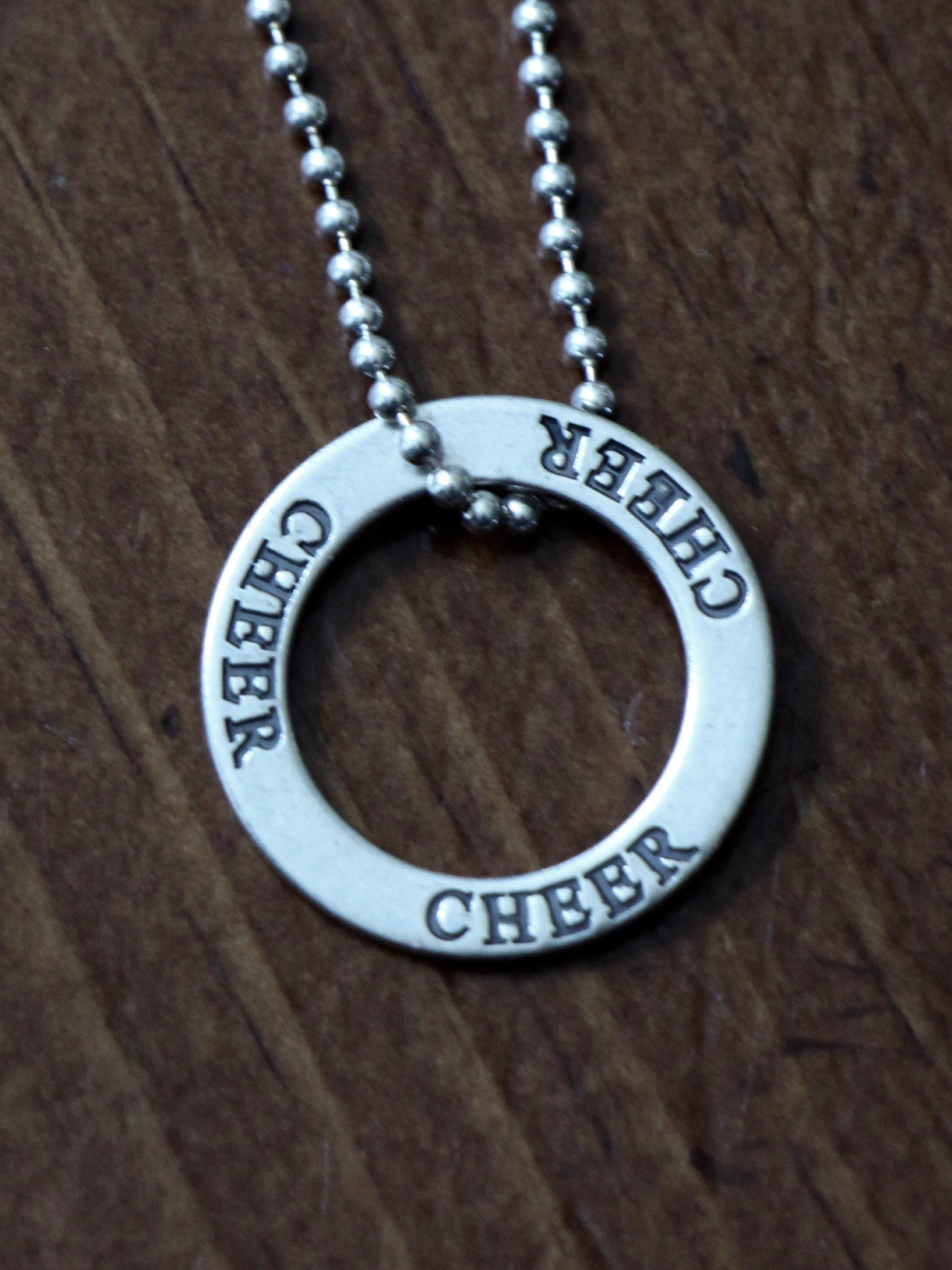 Cheerleader Necklace Cheer Jewelry Gift kandsimpressions