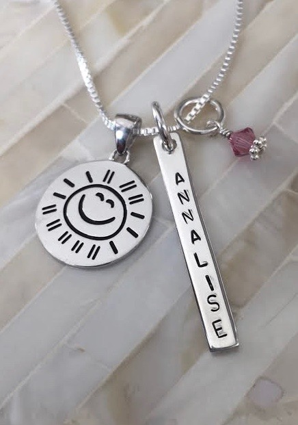 Gift for daughter- You are my sunshine necklace