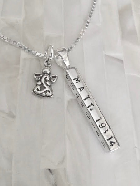 memorial remembrance necklace gift Matt. 19:14