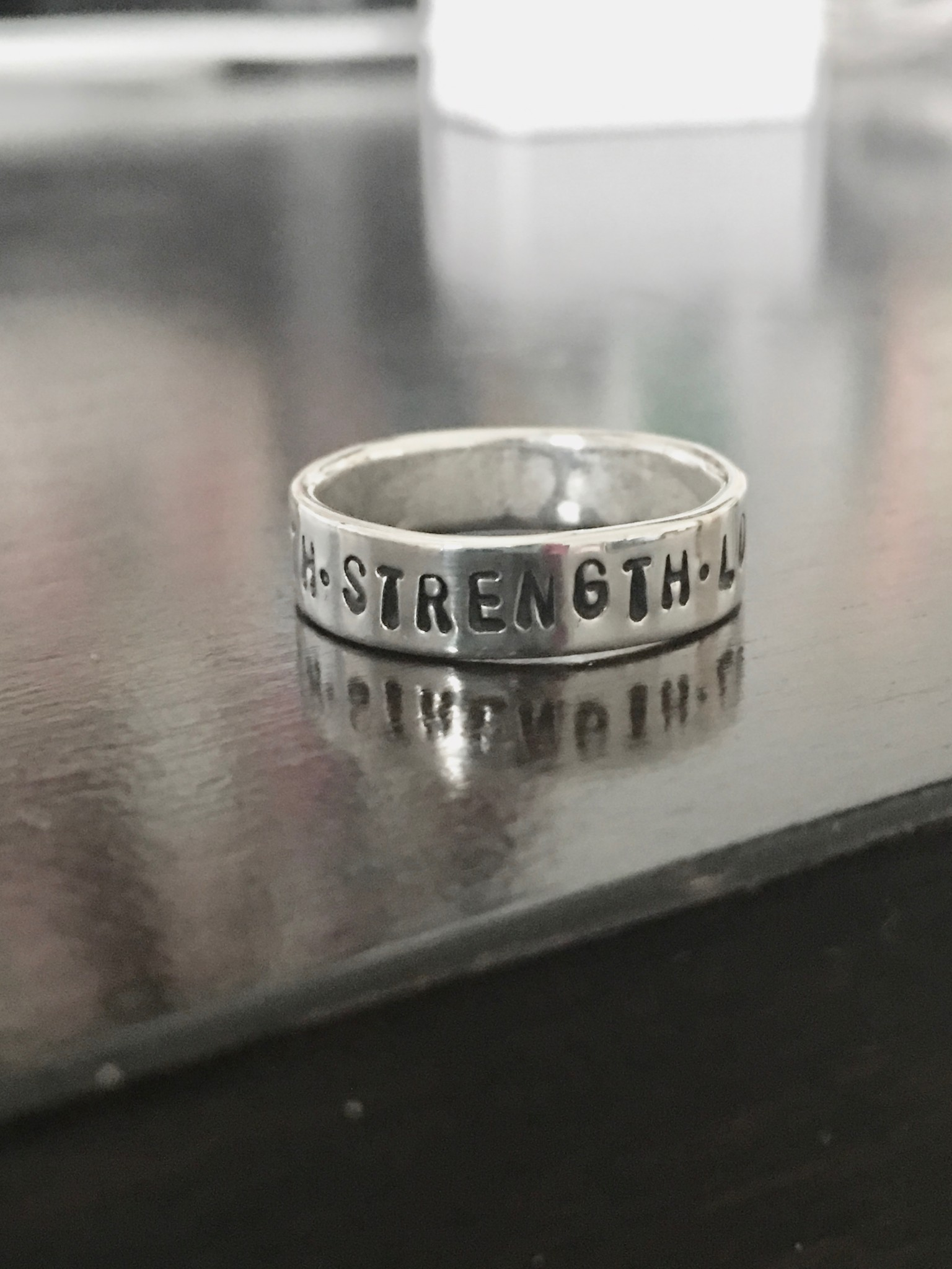 Eating Disorder Ring Recovery T