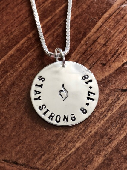personalized Eating disorder charm   kandsimpressions